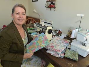 Humans of the Coast: Turning bedsheets into clothing