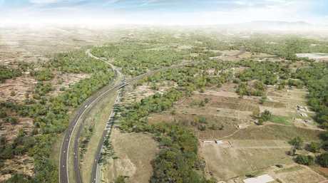Toowoomba Second Range Crossing, Warrego Highway.