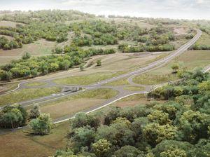 Nexus flyover of Toowoomba bypass