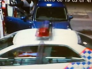 VIDEO: Drink driver busted in disgraceful servo scene