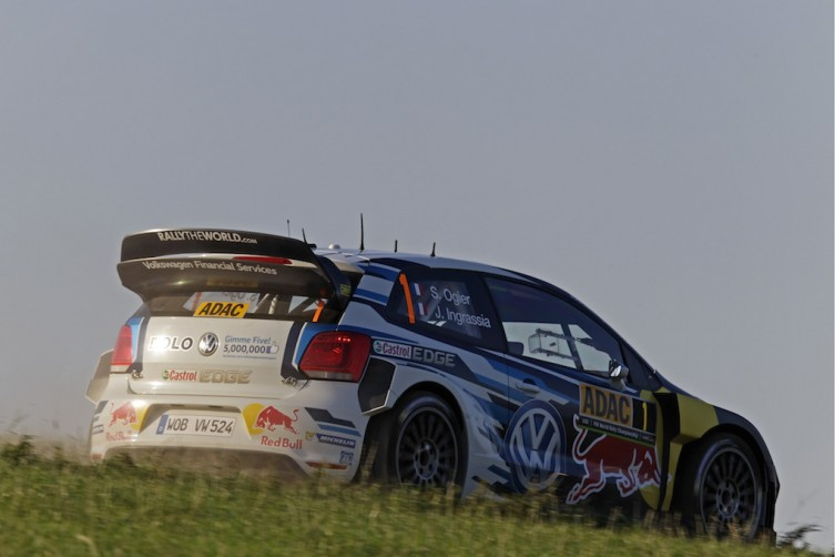 Sebastien Ogier has continued his stranglehold on the WRC championship ahead of the ADAC Rallye Germany.