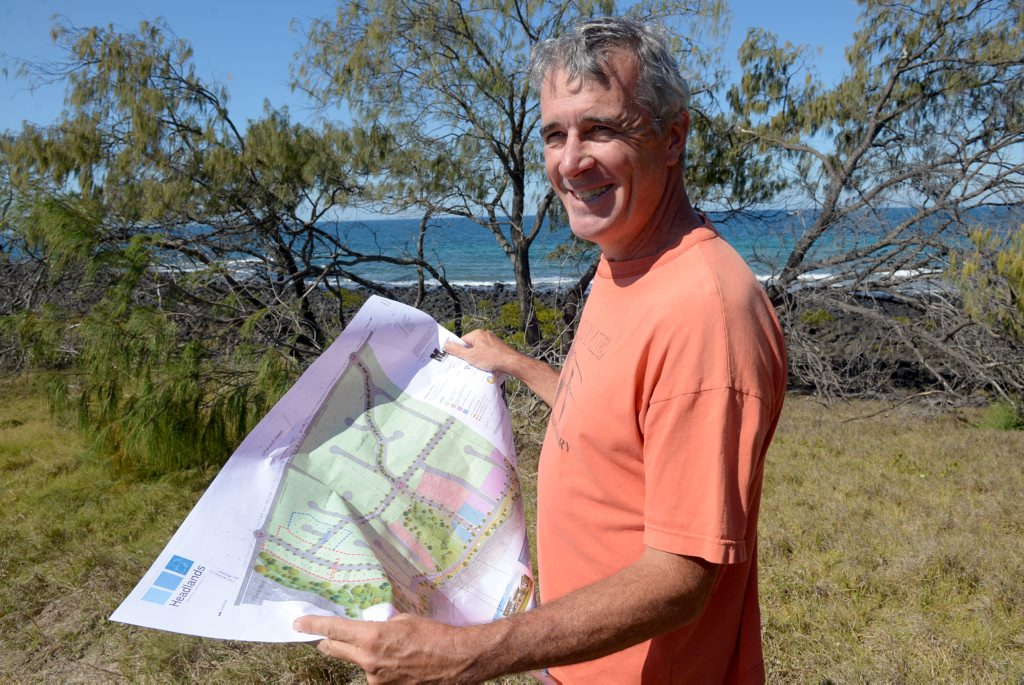 Bill Moorhead wants to rename Innes Park North to Bargara South.