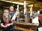 Jessie and Will Hays dream of sailing at The Big Show at Toowoomba Showgrounds. Saturday, Aug 22, 2015 . Photo Nev Madsen / The Chronicle