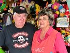 Yandina street fair. (from left) Ray and Veronica Obrien. Photo: Che Chapman / Sunshine Coast Daily