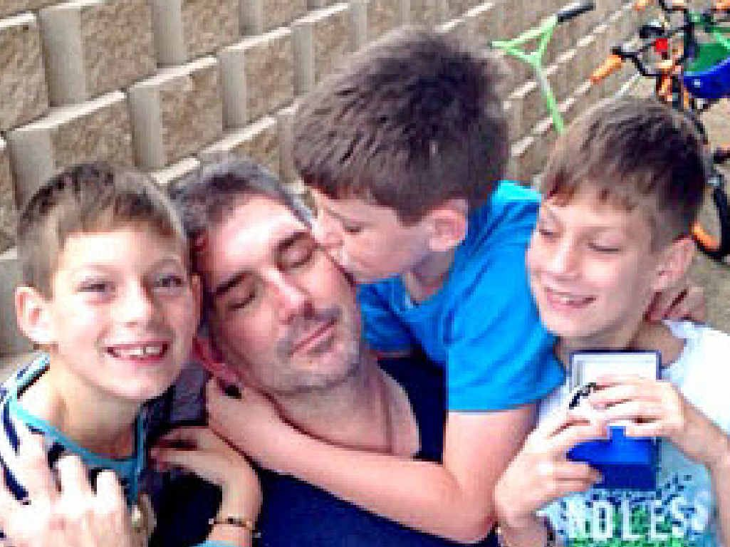 Sheldon gave his sons a watch on his 43rd birthday yesterday.