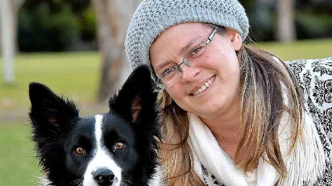 RAW DEAL: Krissi Potter is happy her dog Chloe is okay after a close brush with what she suspects was baited chicken.