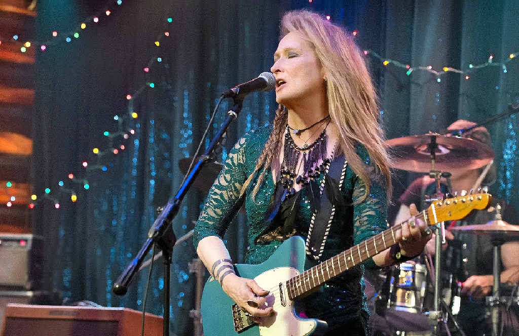 FOREVER YOUNG: Meryl Streep in a scene from the movie Ricki and The Flash.