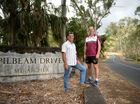 Craig McCormank and Gavin Shuker at the start of Pilbeam Drive. Photo Allan Reinikka / The Morning Bulletin
