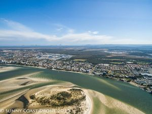 Sunshine Coast from the skies