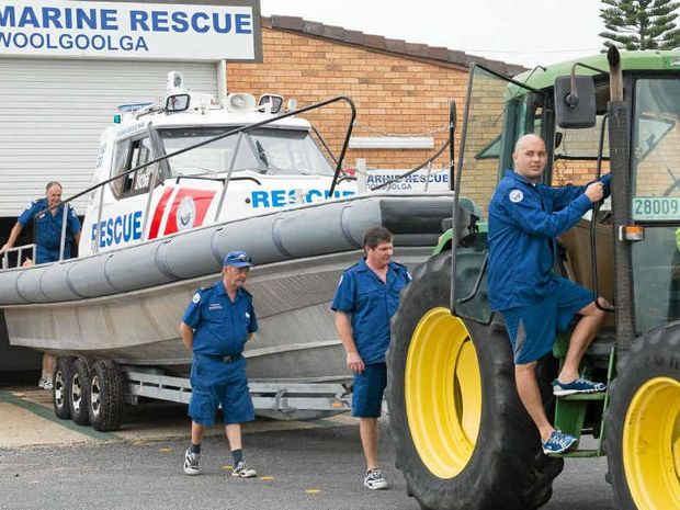 ON THE MOVE: Woolgoolga Marine Rescue is looking for a new home.