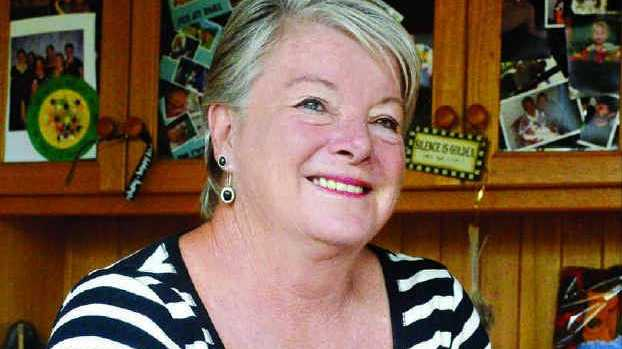 GIVING BACK: Mountain View woman Jenny Vickery has created WARM TOUCH 2460 to help the Clarence Valley community.