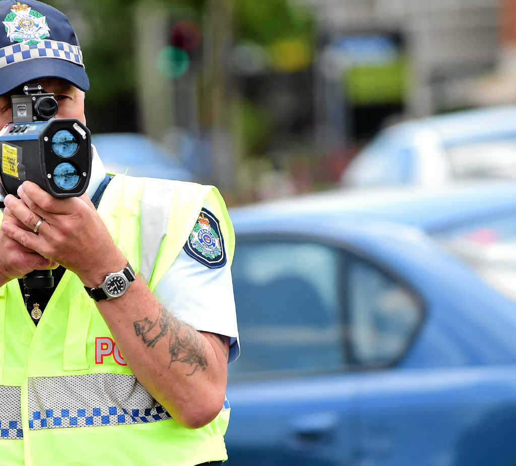 Speeding drivers are being caught in record numbers.