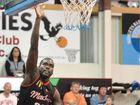 Mackay Meteors' Tidjane Diop reeled in 12 rebounds.