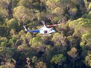 Hiker airlifted to hospital after fall in remote bushland