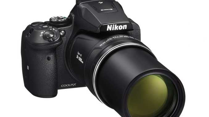 Nikon's Coolpix P900 camera boasts an 83 times optical zoom lens.