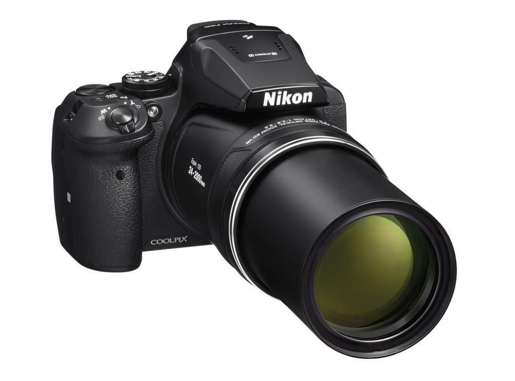 Nikon's Coolpix P900 camera boasts an 83 times optical zoom lens.