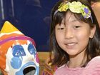Yoshino Fujita, 9, at the Booval Fair EKKA Family Fun Day. Photo Inga Williams / The Queensland Times