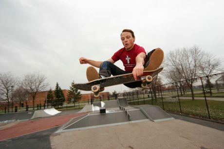 Pastor David Asscherick was a talented skateboarder.