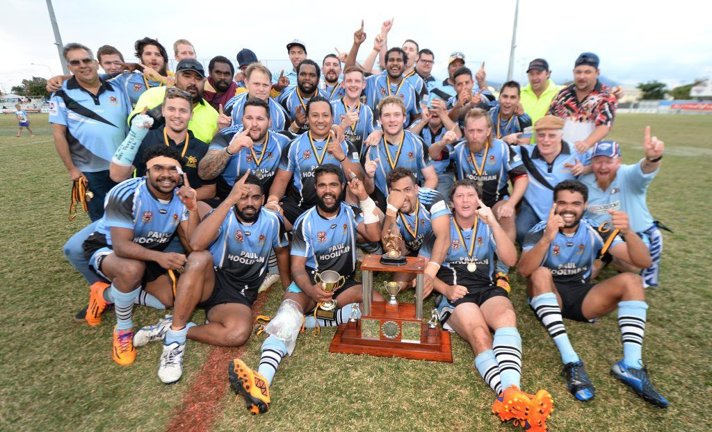 Rugby league reserve grade grand final winners - Norths Chargers. Photo: Chris Ison / The Morning Bulletin