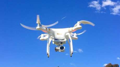 Callum Scott is looking at the Sunshine Coast from the skies using his drone.