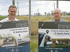 Money wasted on Western Downs highway litter habit