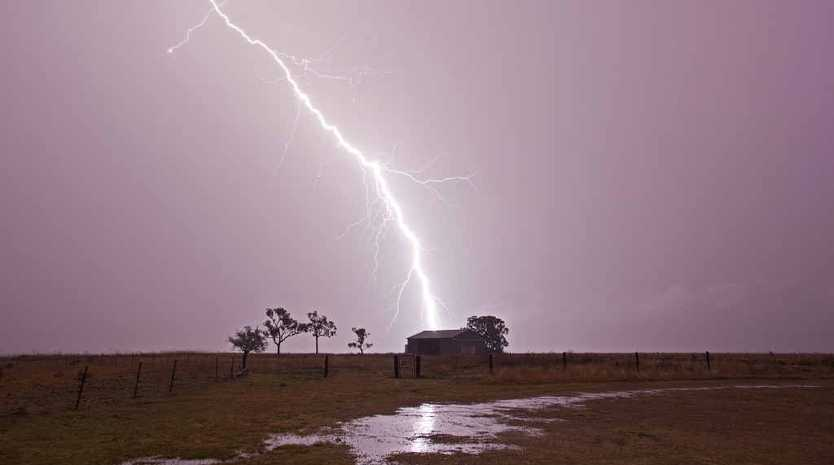 LIGHTNING STRIKE: Warwick stormchaser Chris McFerran snapped this photo of a lightning strike at Loch Lomond during Monday night's storm.