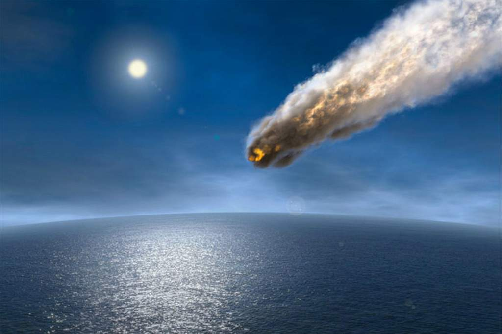 Artist's impression of an Armageddon asteroid. Credit: Getty  Images