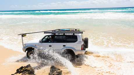 The proximity to salt water means that you have to thoroughly clean your 4WD after each beach trip.