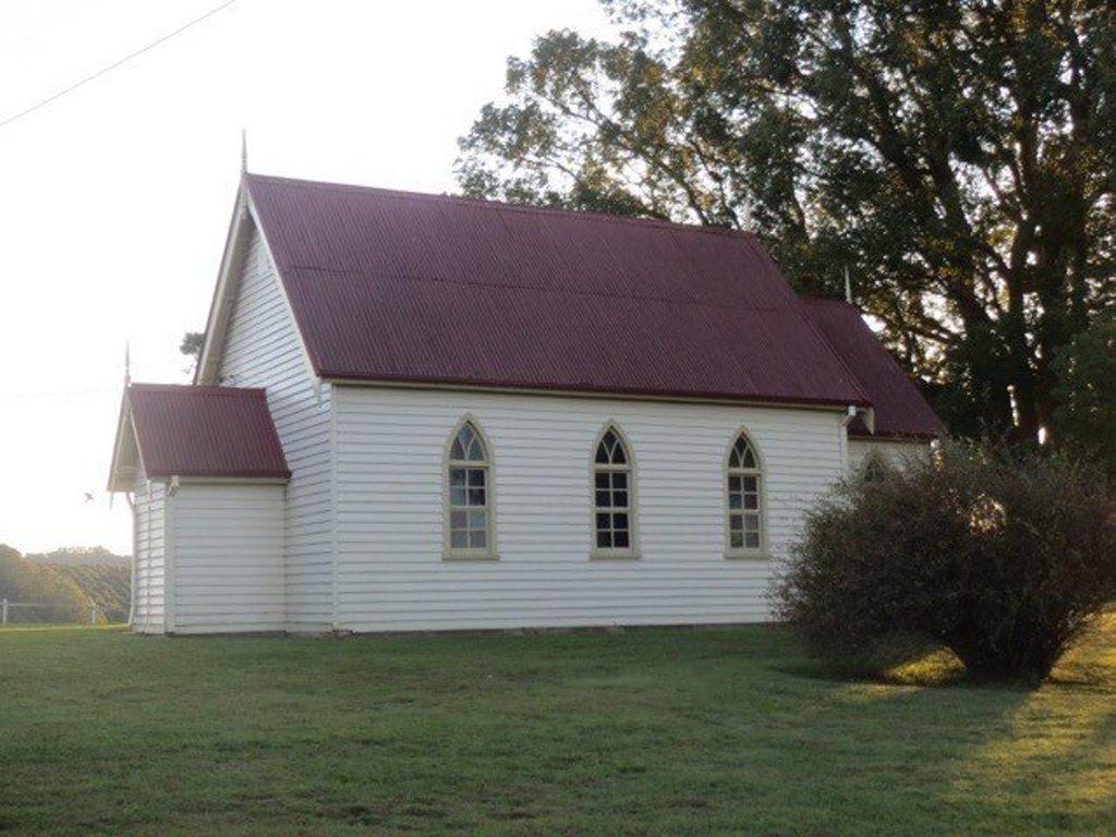 ANNIVERSARY SERVICE: St Aidan's Anglican church at Eureka.
