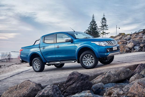 2015 Mitsubishi Triton Exceed. Photo: Contributed