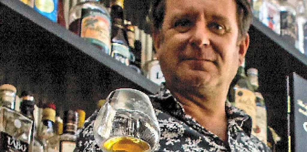 DRINK MASTER: Airlie Beach's famous Dr Rum, AKA Mark Wyatt.