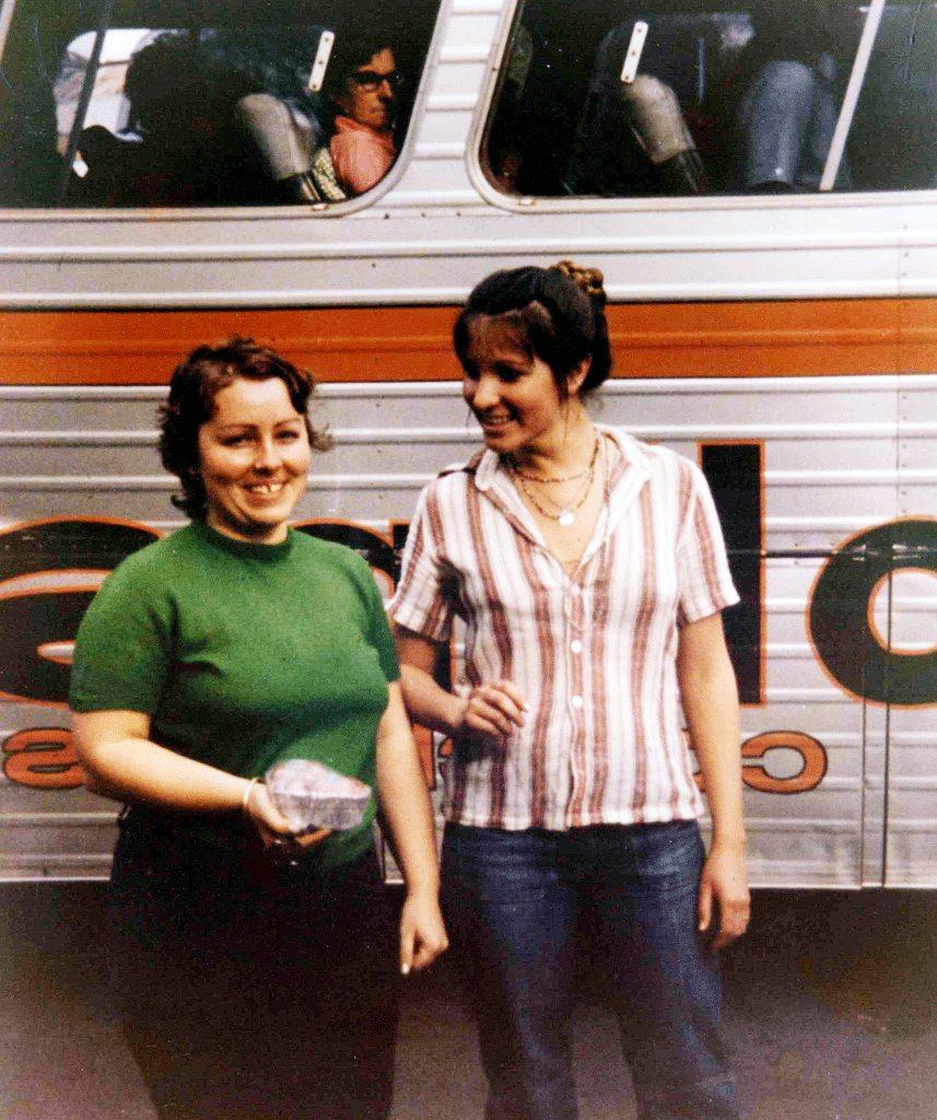 Sydney nurses Lorraine Wilson and Wendy Evans, murdered Murphys Creek in 1974. Contributed State Coroner's Office