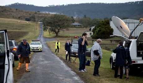 The scene at Allens Road Upper Tent Hill near where Gatton teenager Jayde Kendal's body was found . Thursday, Aug 27, 2015 . Photo Nev Madsen / The Chronicle