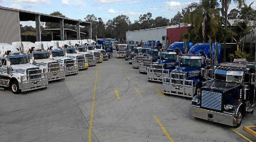 Heavy Haulage Australia assets are being sold off at auction.  Photos courtesy of Pickles Auctions.