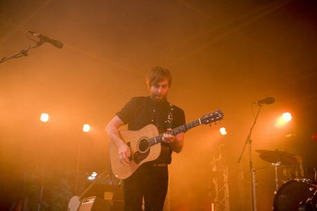 Josh Pyke performs at the Festival of Flowers 2013.