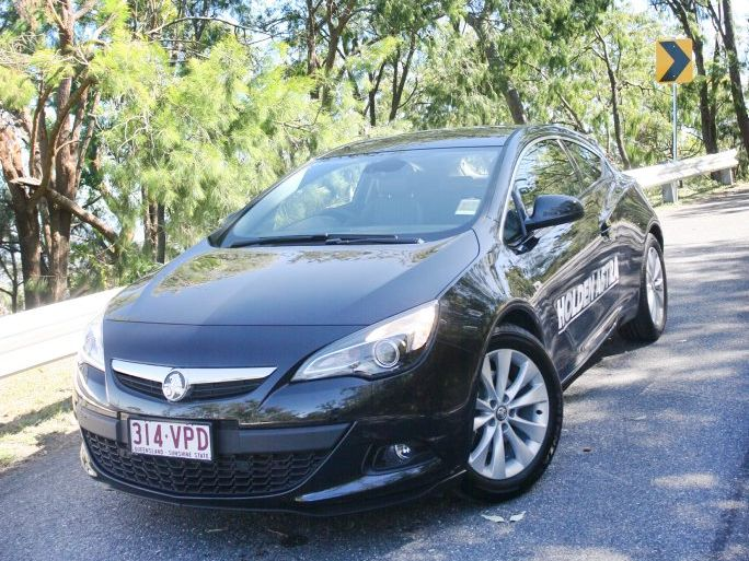 All new Holden Astra, exclusive to Lawrence's Holden. Photo Tamara MacKenzie / The Morning Bulletin
