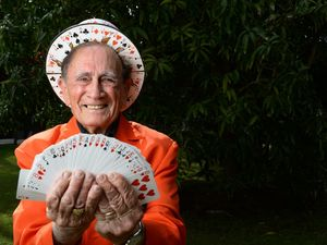 Magician does another trick for us