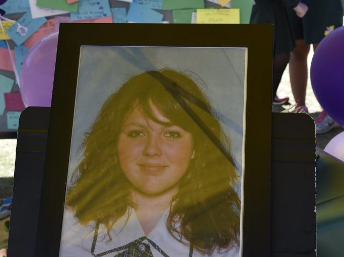 Jayde's friends and fellow students at the Lockyer Valley District High School have set up a memorial.