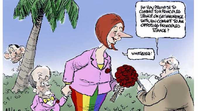 Cartoon by Paul Zanetti.