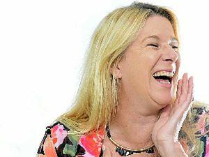 Mandy Nolan, high priestess of laughter