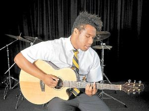 Lismore singer, Taholo, has the X factor