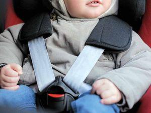 Parents fail to strap kids into car seats