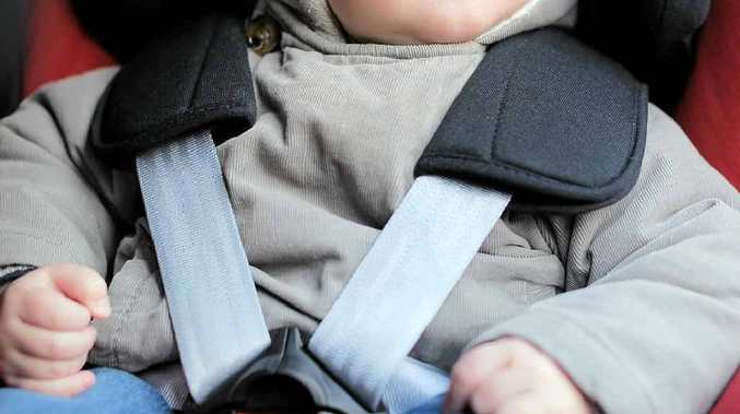 PARENTS BEWARE: Authorities warn of booster seat dangers.