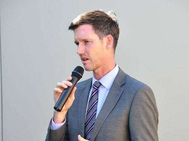 Main Roads Minister Mark Bailey