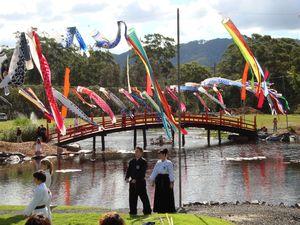 Celebrate the Koi Festival in fine Japanese style