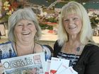 LUCKY: Jenny Huth, who won The Observer's Giant Grocery Giveaway, with her sister Yvonne Blackmore.