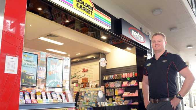 DECISION MADE: John Stratton to close one of his two Bargara newsagencies.