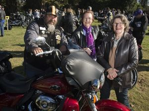 Bike riders Cruise for Cancer