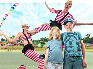 Street carnival celebrates display village opening
