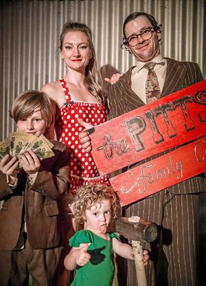 CLOWNING AROUND: The Pitts Family Circus will perform at the Mullum Circus Festival next month.